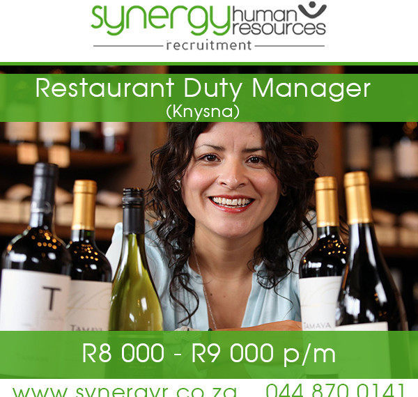 Restaurant Duty Manager
